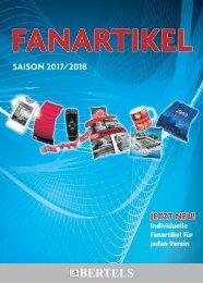 Bertels Fanartikel Katalog 2017/2018