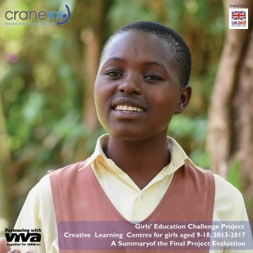 CRANE Viva GEC Project completion report final 2017