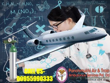 Rescue Medical Air Ambulance Service from Patna to Delhi