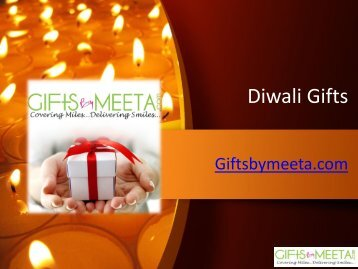 Online Diwali Gifts from Giftsbymeeta