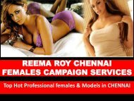 Premium Escorts in Chennai- Reema Roy