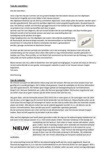 wijkblad juni 2012