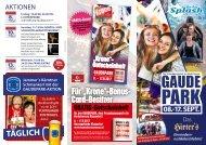 Gaudepark Klagenfurt - Besucherfolder2017
