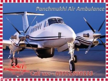 Get High-Tech Air Ambulance Service in Kolkata and Guwahati by Panchmukhi Air Ambulance