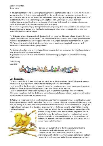 Wijkblad maart 2017