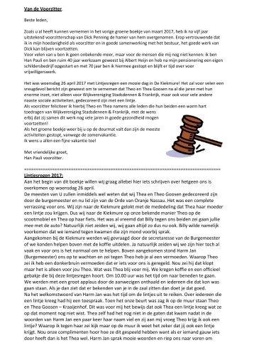 Wijkblad juni 2017