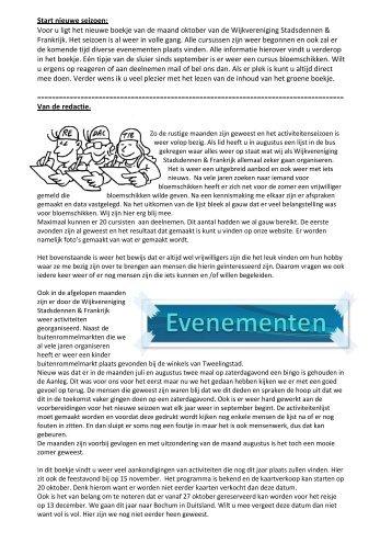 wijkblad oktober 2014