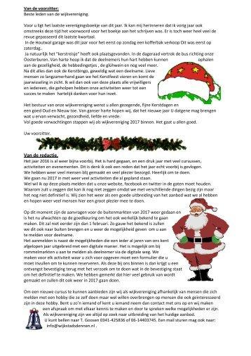 Wijkblad december 2016