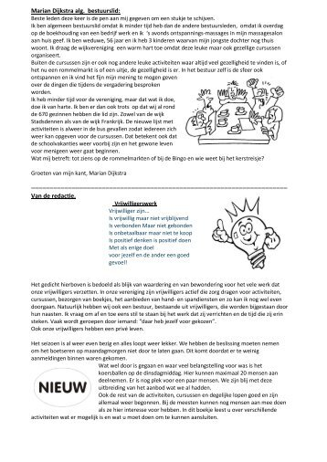wijkblad oktober 2013