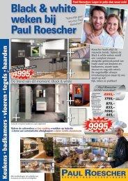 Paul Roescher folder Black & White weken