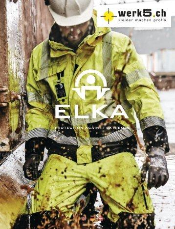 Elka Regenbekleidung - werk5 Kollektion 2017
