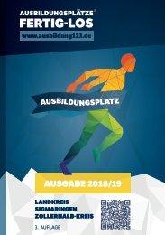 AUSBILDUNGSPLÄTZE - FERTIG - LOS | Landkreis Sigmaringen, Zollernalb-Kreis 2018/19