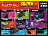 Catálogo de Tecnología Gamer SUMITEL Vig17Sep2017