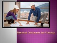 Electrical-Contractors-SanFrancisco