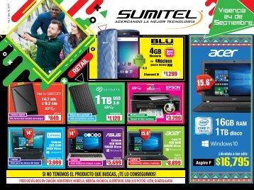 Catálogo de Tecnología SUMITEL Vig. 24SEP´17