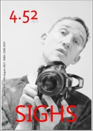 4.52am Issue: 047 16th August 2017 The SIGHS Issue