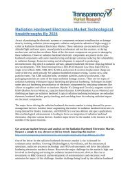 Radiation Hardened Electronics Market