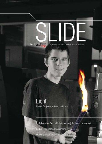 Hawa Projekte spielen mit Licht Lichtkünstler Gerry Hofstetter - DE