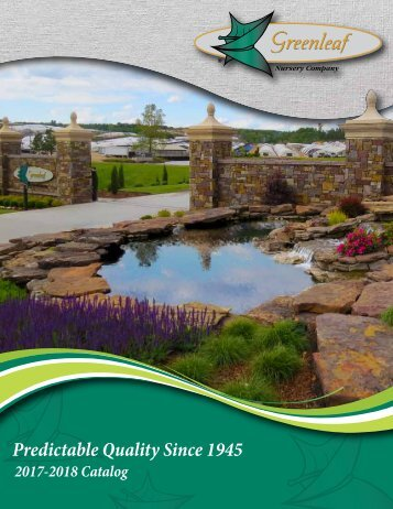 Greenleaf Nursery Company Catalog 2017-2018