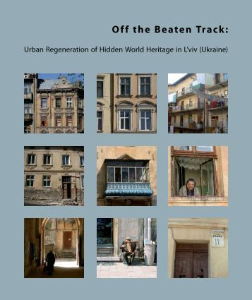 Off the Beaten Track - Urban Management - TU Berlin