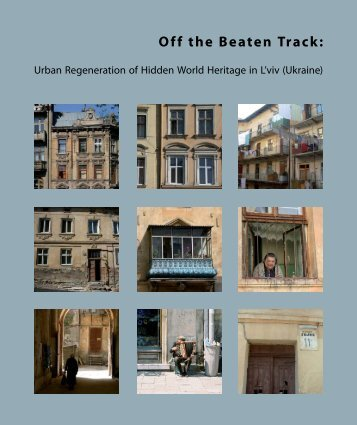 Off the Beaten Track - Urban Management - TU Berlin