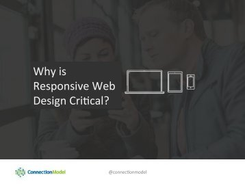 Why is Responsive Web Design Critical