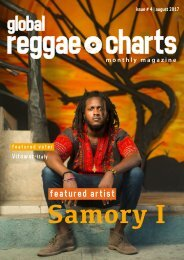 Global Reggae Charts - Issue #4 / August 2017