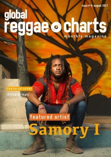 Global Reggae Charts - Issue #4 / August 2017