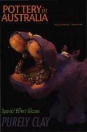 Pottery In Australia Vol 37 No 1 Autumn 1998