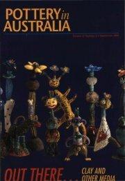 Pottery In Australia Vol 37 No 3 September 1998