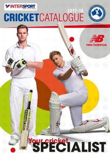 Intersport Cricket Catalogue 2017