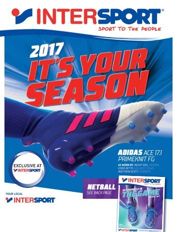 Intersport Football Catalogue 2017