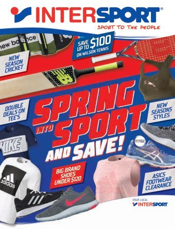 Intersport Spring Catalogue 2017