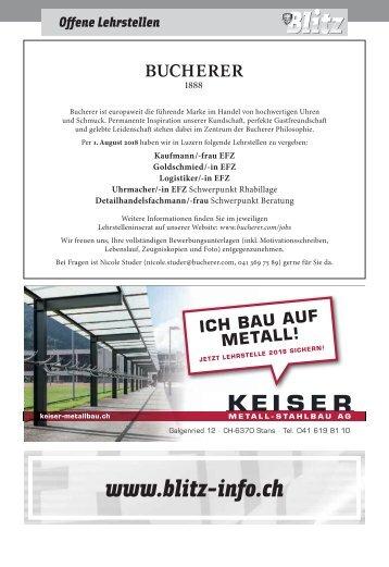 Stellen KW33 / 18.08.17