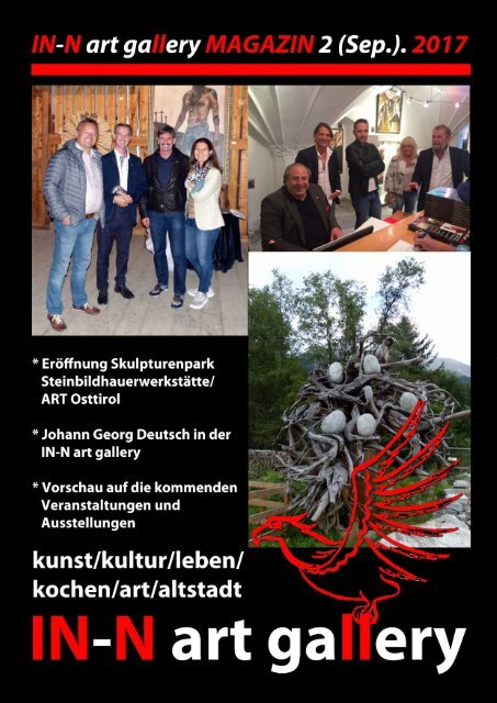 IN-N art gallery Magazin 2/2017 (Sep.).