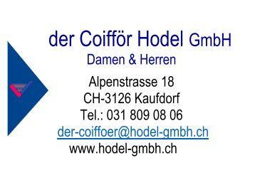 der Coifför Hodel GmbH