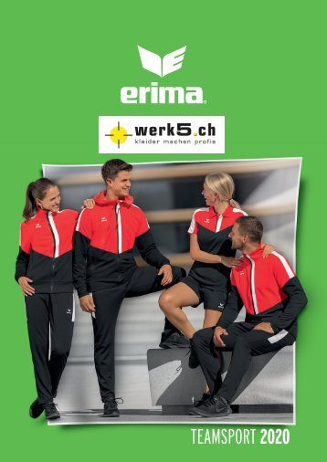 Erima - werk5 Teamsport Kollektion 2018