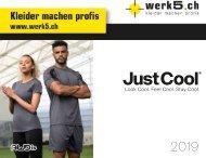 Just Cool - werk5 Sport Kollektion 2019