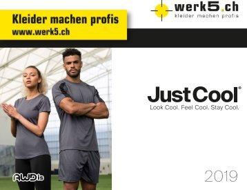 Just Cool - werk5 Sport Kollektion 2018