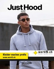 Just Hoods - werk5 Kollektion 2019