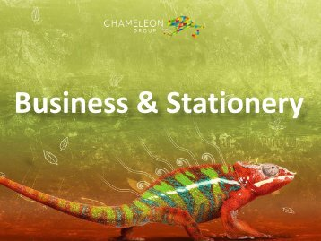 Business & Stationery - Chameleon Print Group