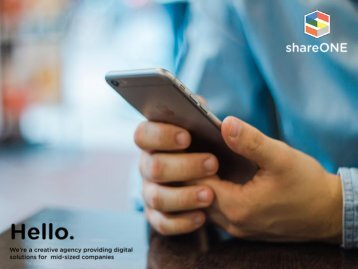 shareONE profile - Corporate Solutions
