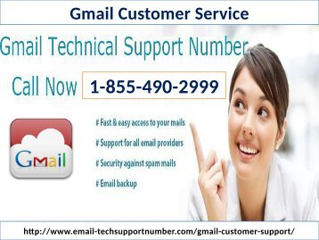Gmail Customer Support Phone Number 1-855-490-2999 help of Gmail Login issues