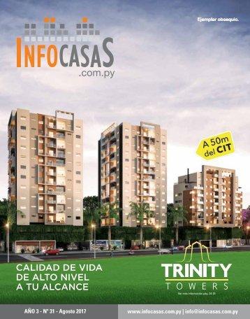 Revista InfoCasas  Paraguay - Agosto 2017