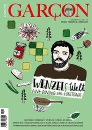 Magazin GARCON - Essen, Trinken, Lebensart Nr. 45