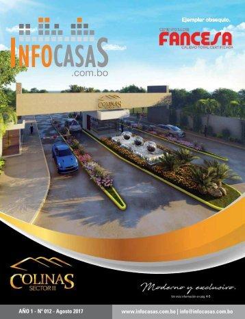 Revista InfoCasas Bolivia - Agosto 2017