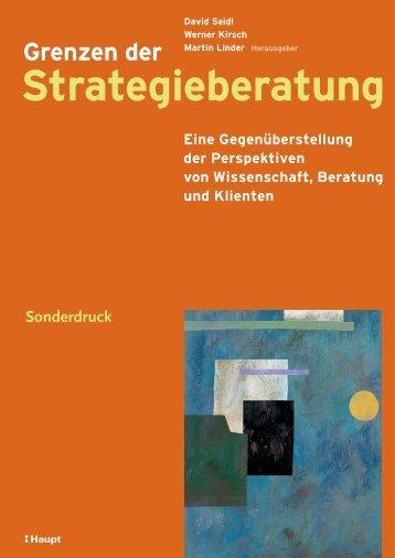 Grenzen der Strategieberatung - Metaplan