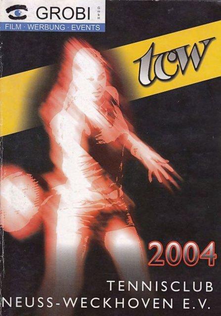 Clubheft des TCW - Ausgabe für 2004