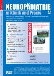 .EUROWOCHE - Neuropädiatrie in Klinik und Praxis