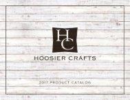 Hoosier Crafts 2017 Catalog